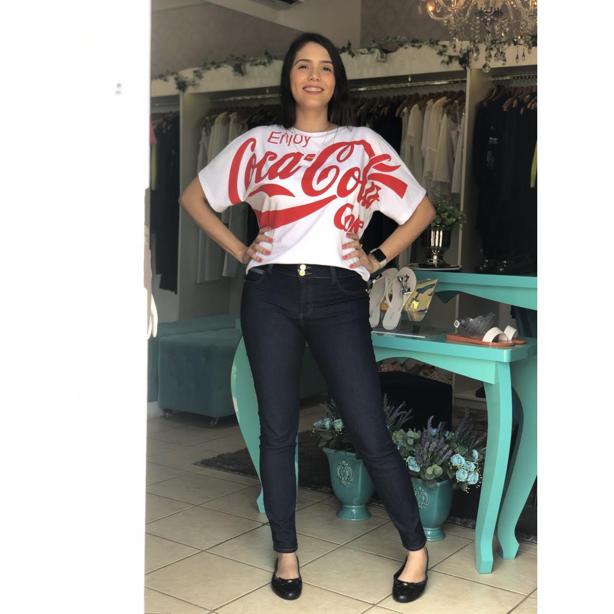 ef1a42dc0f Calça Jeans Fátima Mid Cropped - Triton - Donna Santi Store