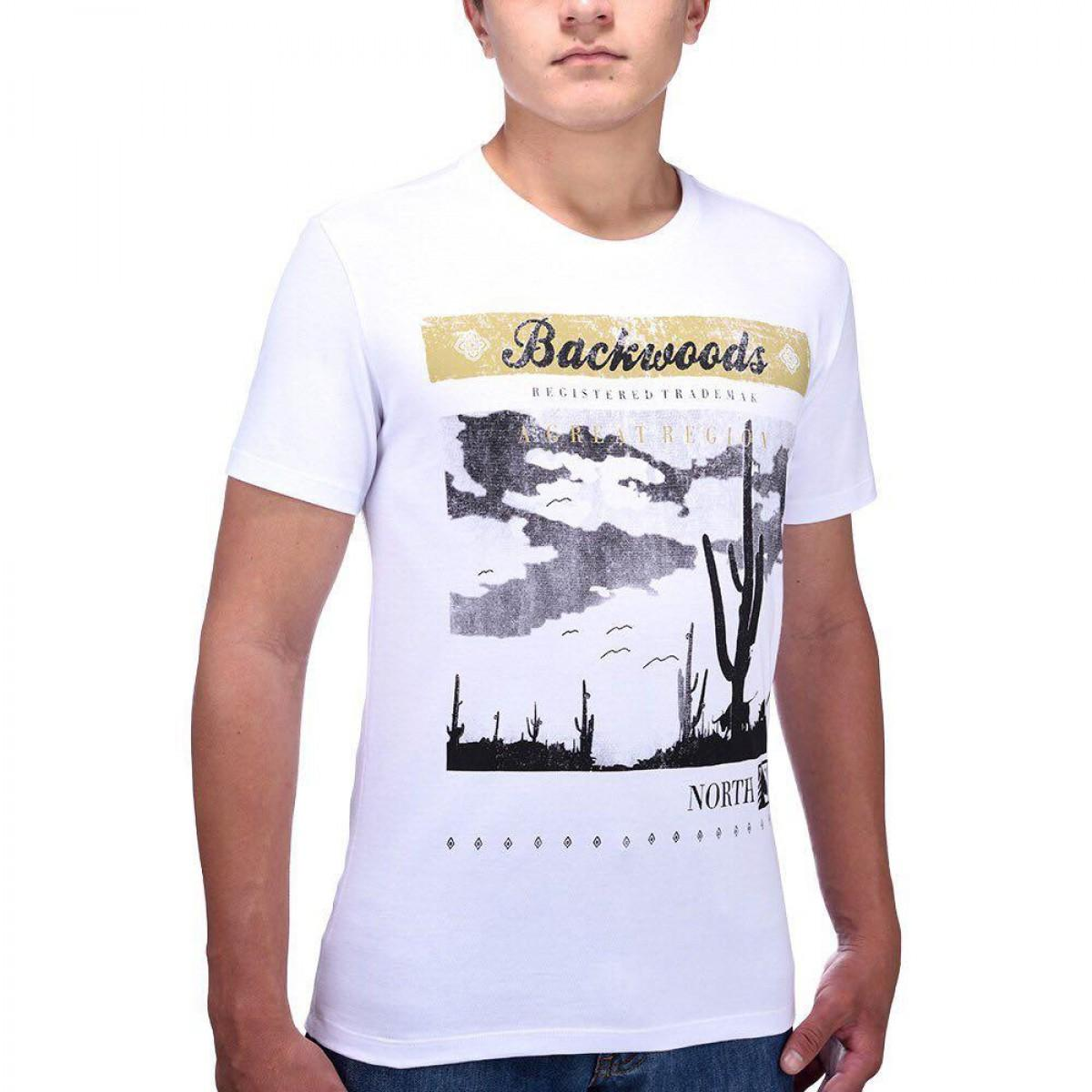 c0e6e8ac7 Camiseta Backwoods Branca - BF   MS