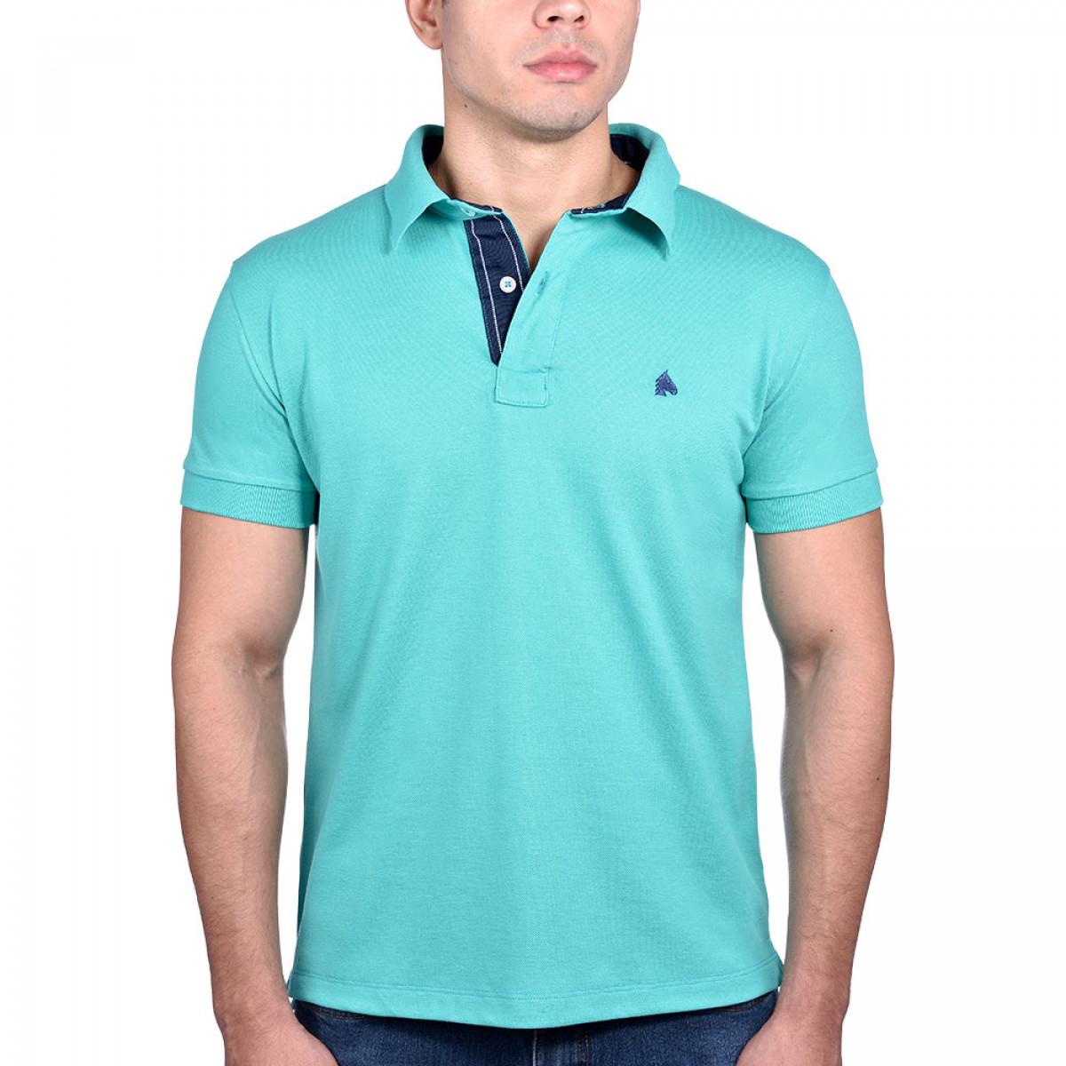 c18f0b8831 Camisa Polo BF   MS Verde Esmeralda - BF   MS