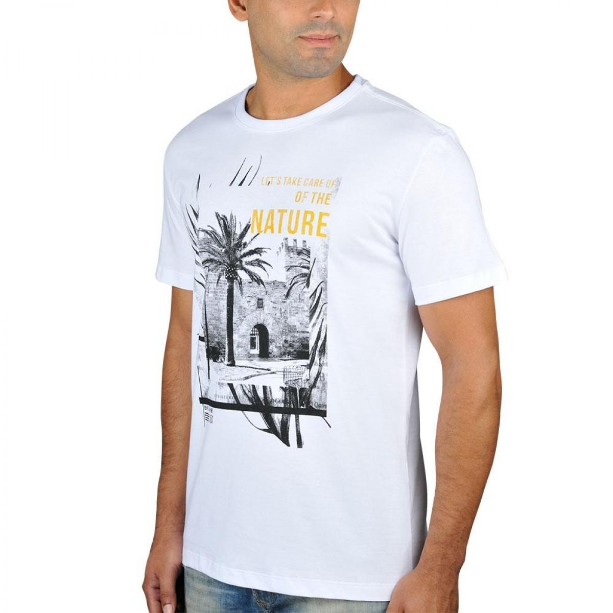 d9c4225fc Camiseta Nature Branca - BF   MS