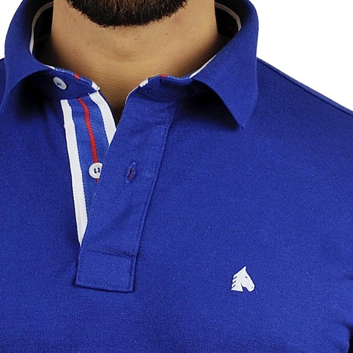 Camisa Polo BF   MS Azul Bic - BF   MS ba11c17389e90