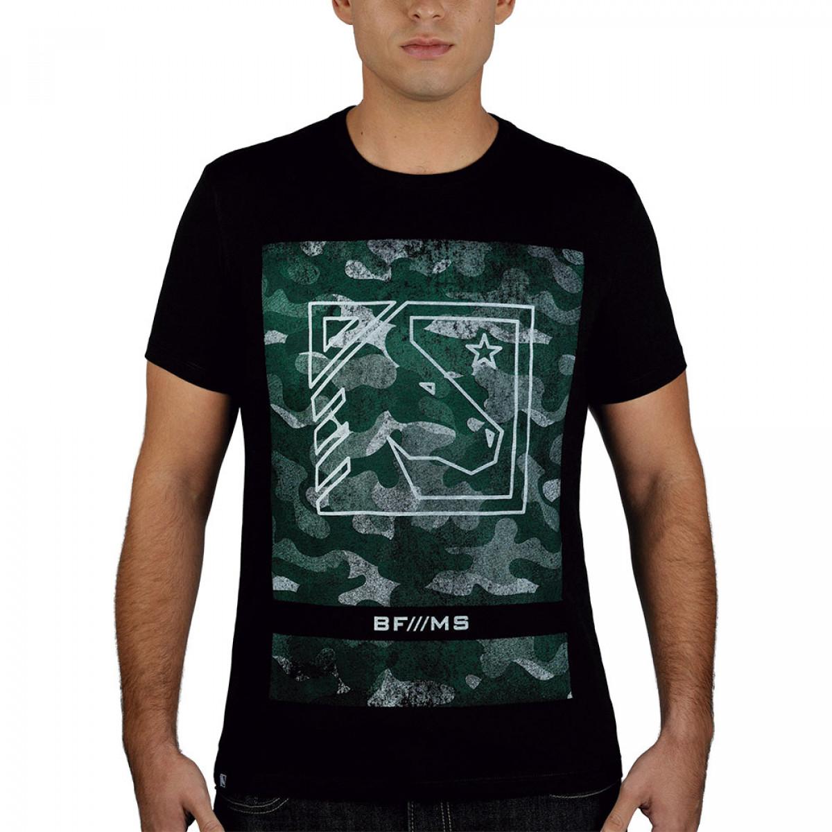 11543149d Camiseta BF Horse Preta - BF   MS