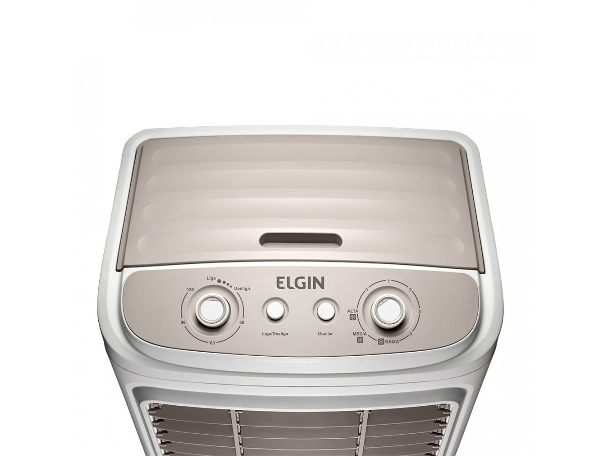 Climatizador de Ar Big Air 45L Elgin 127V Branco/Cinza