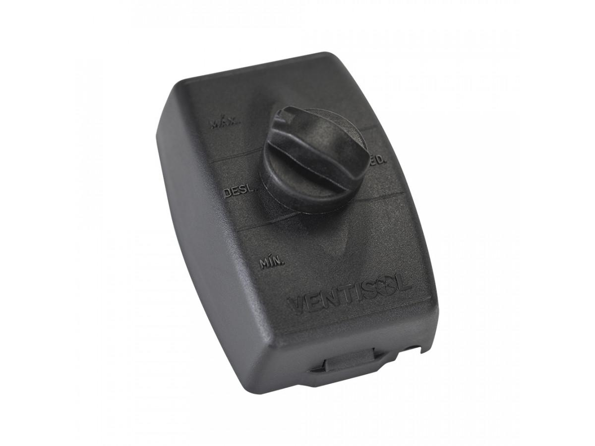 Ventilador De Parede New 60cm 3 Hélices Preto - 127V - VENTISOL