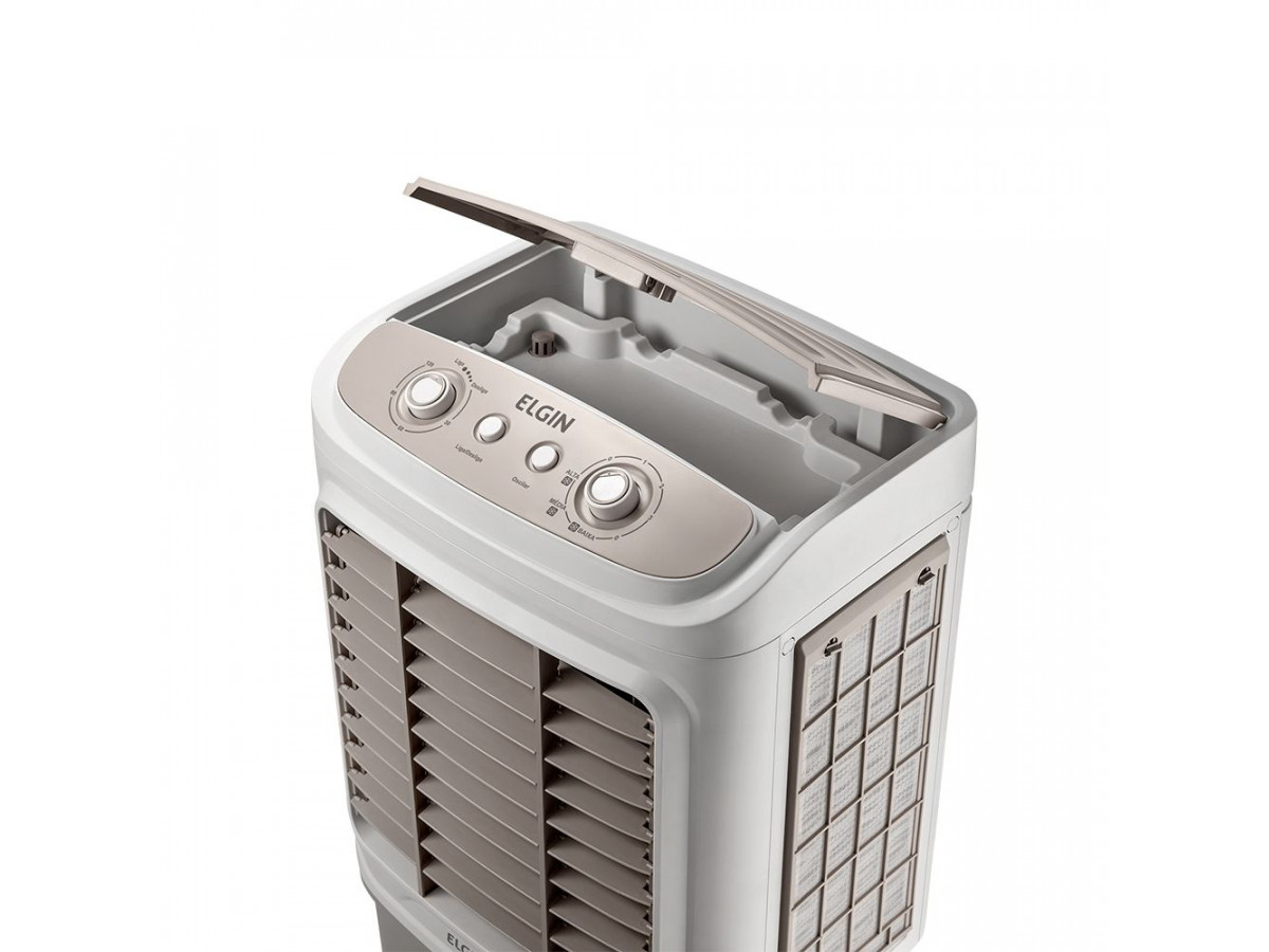 Climatizador de Ar Big Air 65L Elgin 127V Branco/Cinza