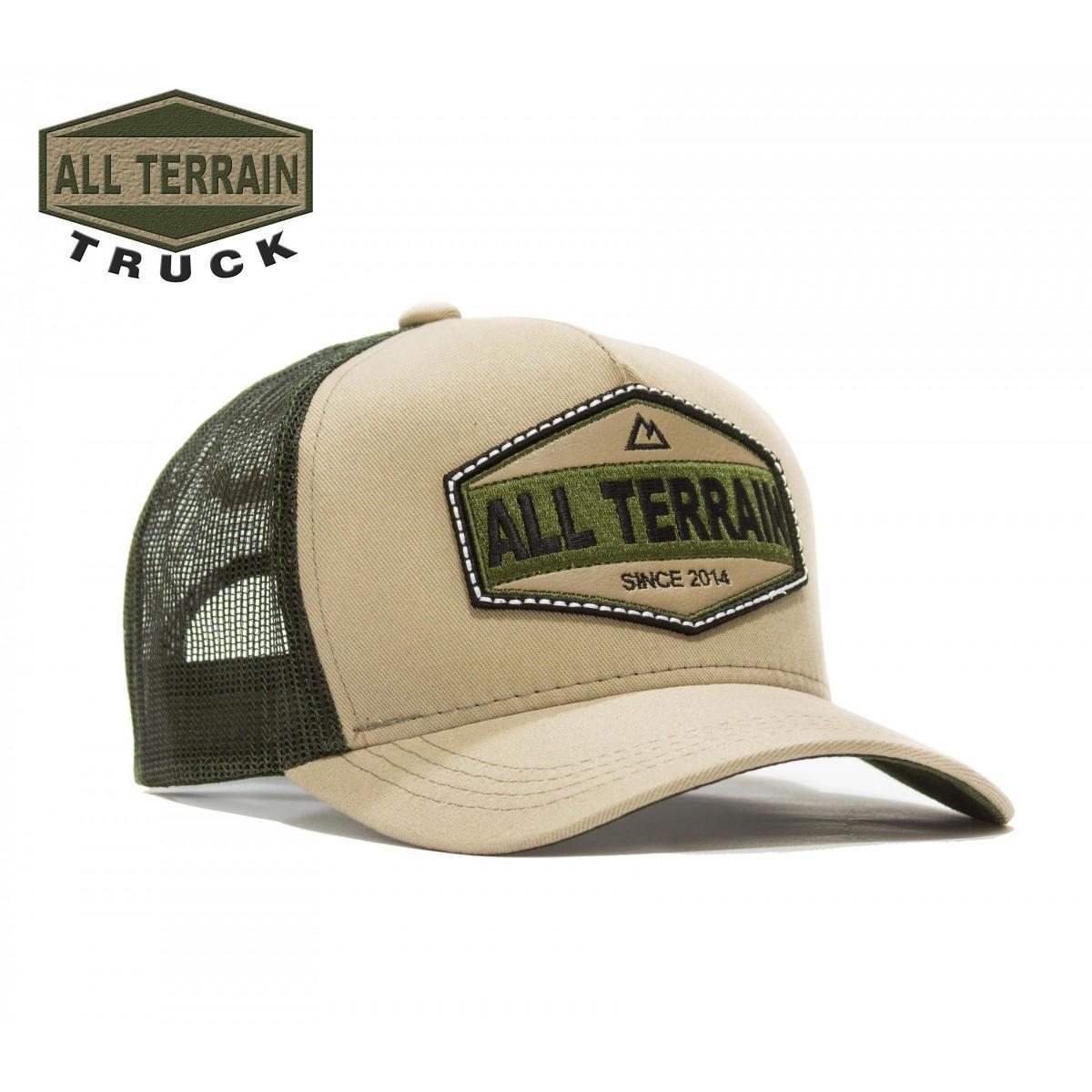 Boné All Terrain Truck Caqui f5738b9954b