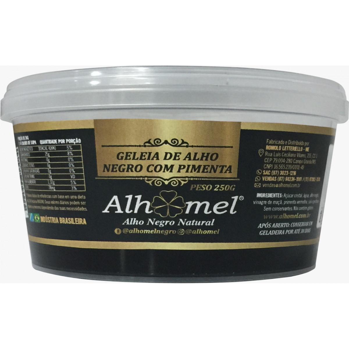 Geleia de Alho Negro com Pimenta 250 g