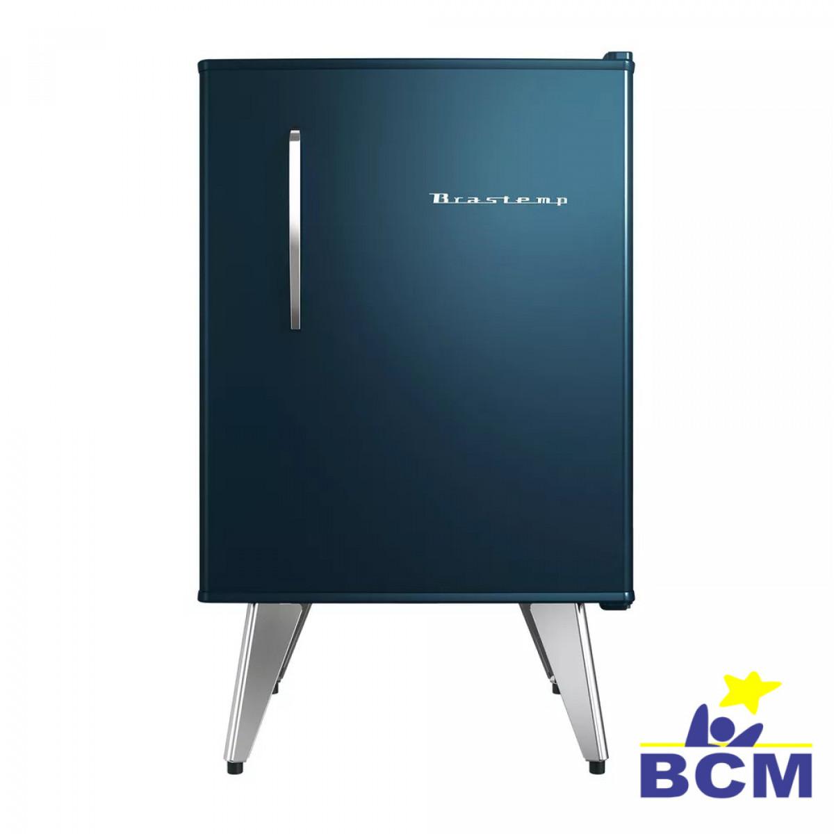 Frigobar Brastemp Retro 76L Azul - 110V