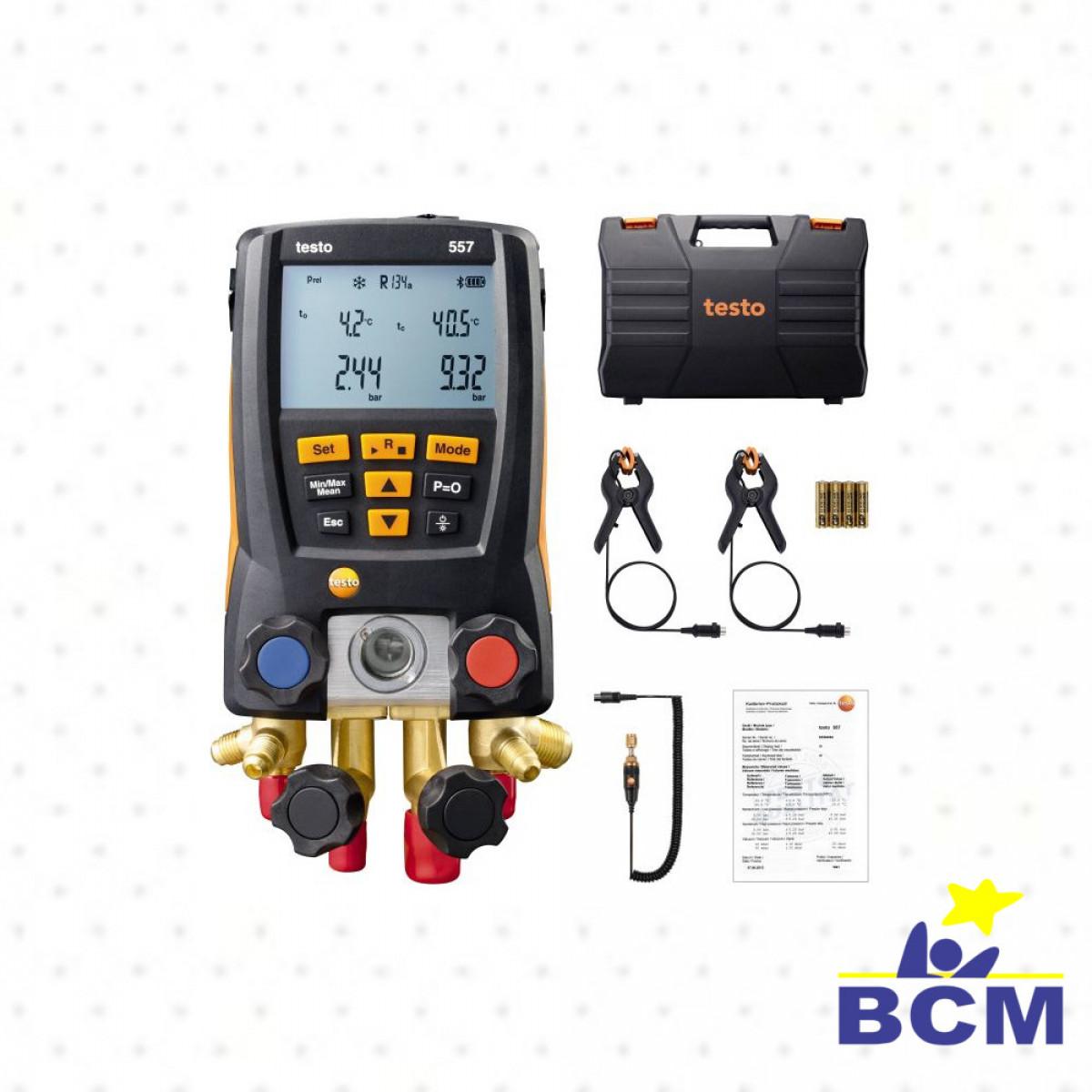 Testo 557 kit - Manifold Digital
