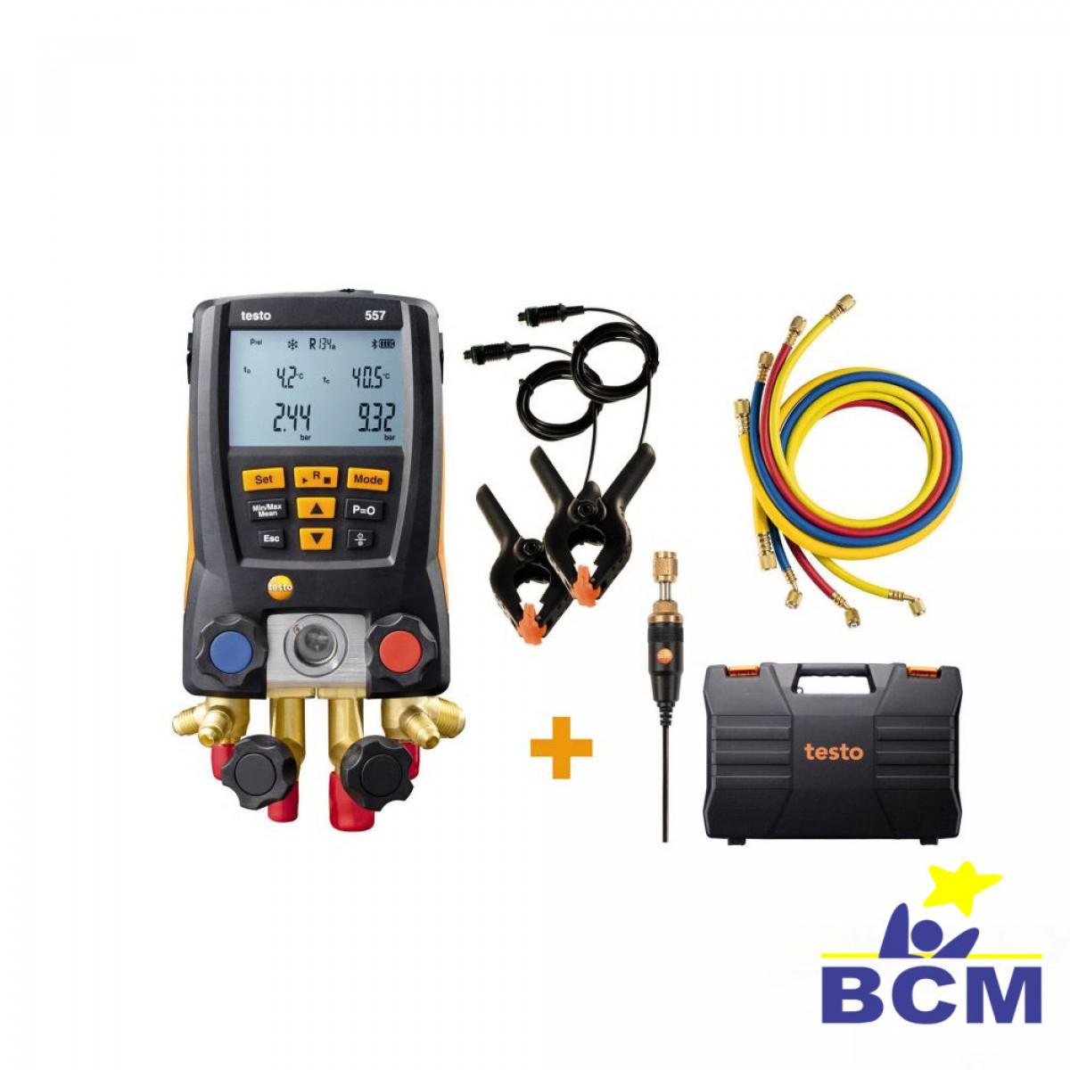 Testo 557 - Manifold Digital kit