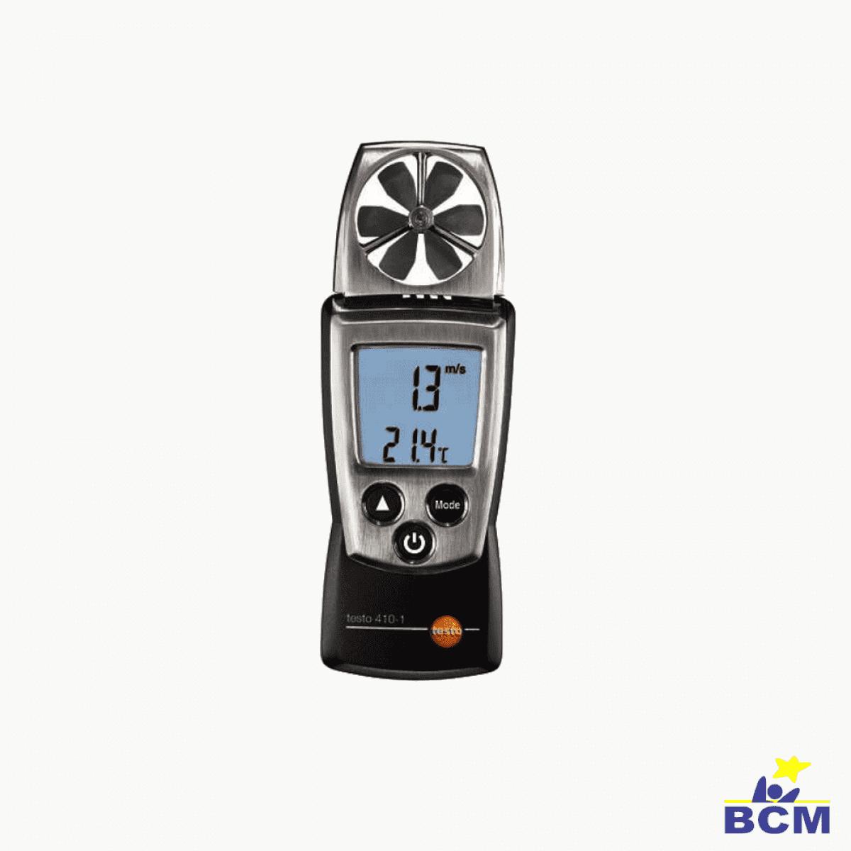 testo 410-1 Anemômetro BCM