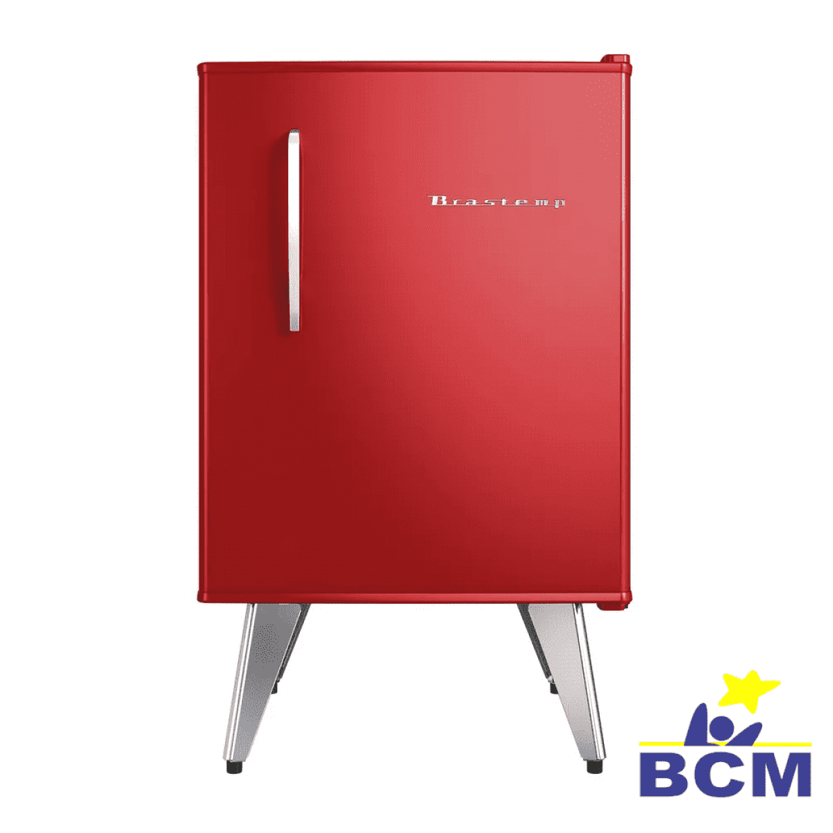 Frigobar Brastemp Retro 76L Vermelho - 110V